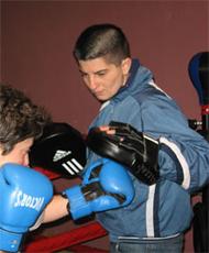 Цанка Карова - треньор по бокс